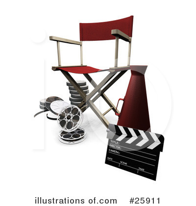 Film Industry Clipart #25911.