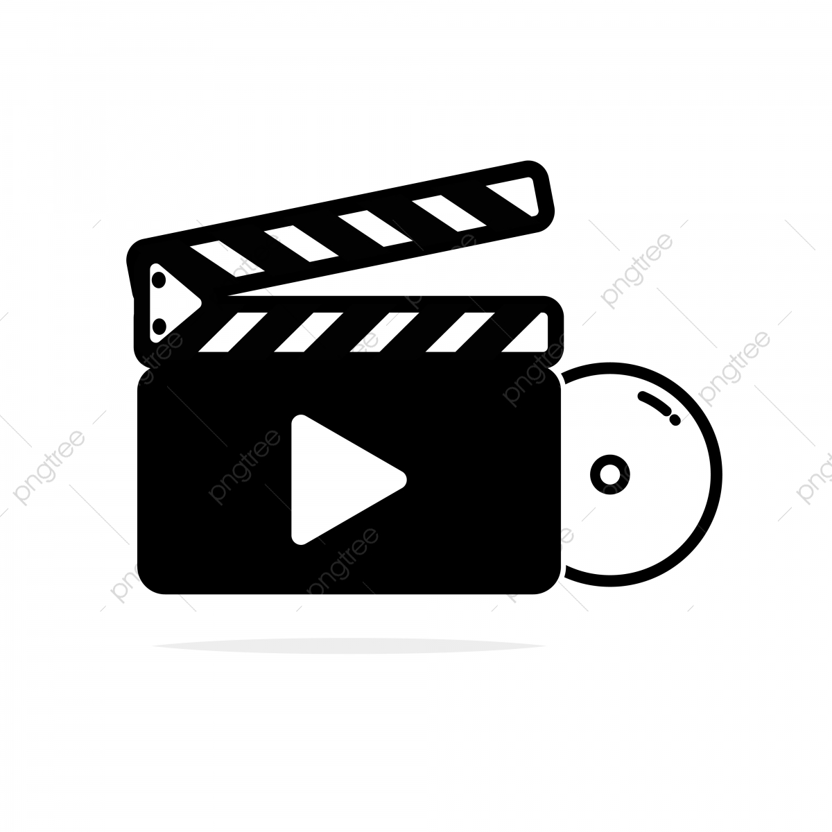 Movie Icon Which Is Designed For All Application Purpose, Icon, Film.