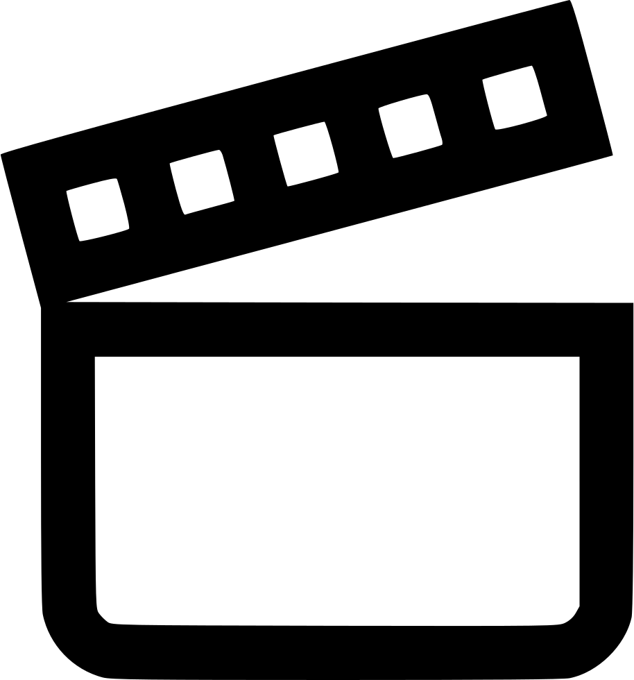 Movie Moviemaker Film Cut Svg Png Icon Free Download (#524690.