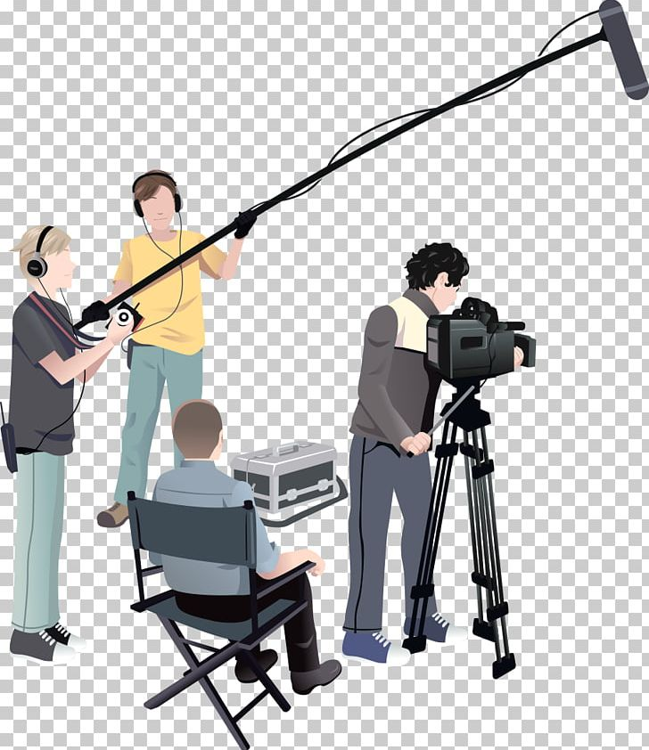Microphone Film Crew Film Producer Film Director PNG.