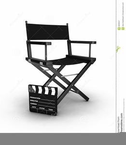 Film Producer Clipart.