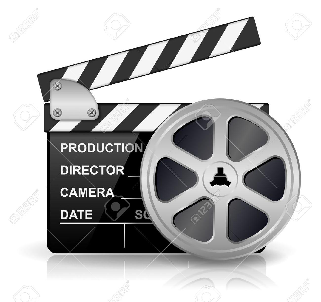 Film Production Clip Art.