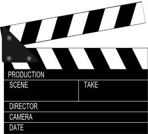 Film production clipart.