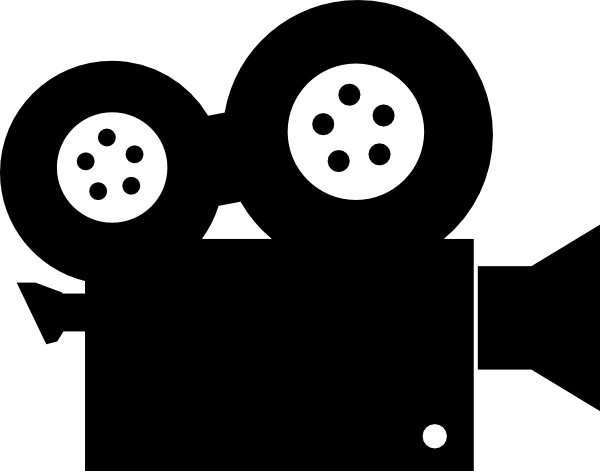 Movie Camera Clipart.