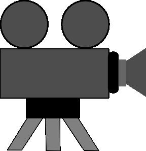 Movie Camera Clip Art at Clker.com.