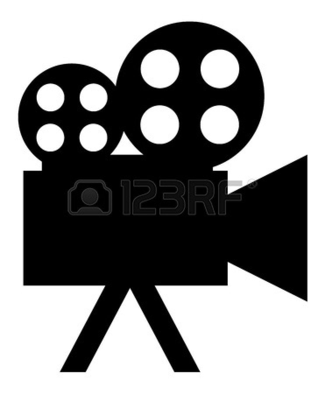 Film projector clip art.