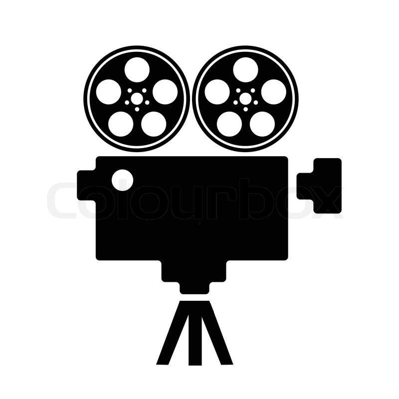 Old Fashioned Movie Clipart