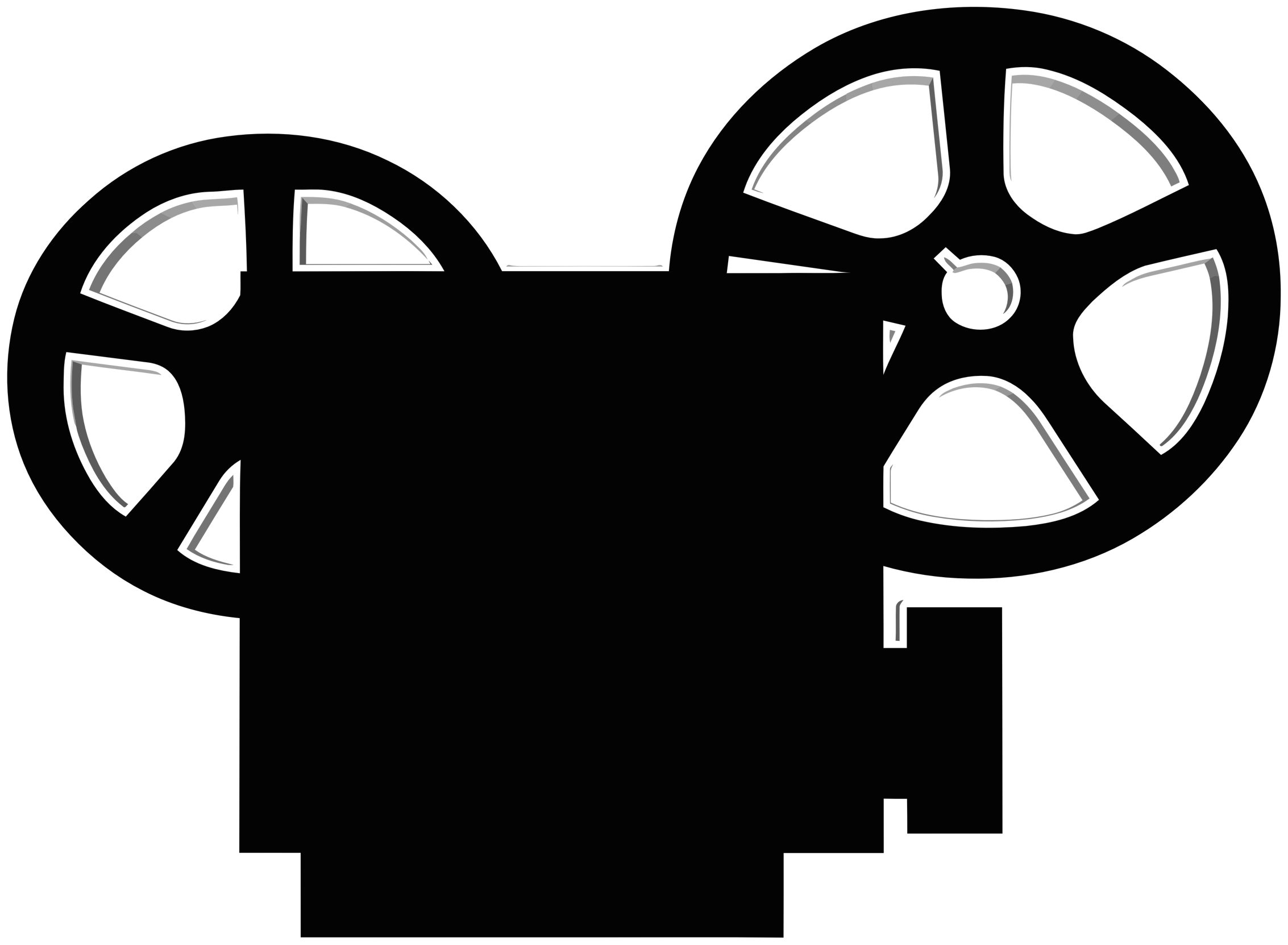 Old Film Projector Clipart.
