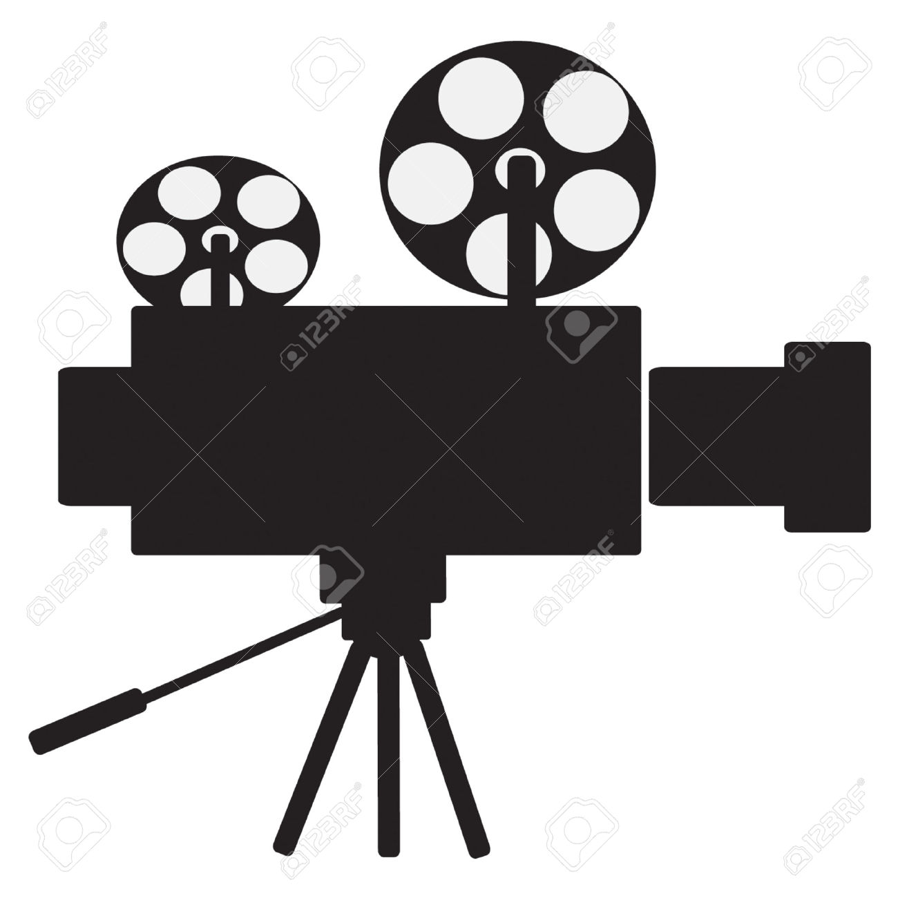 Film Projector Vector Clip Art Royalty Free Cliparts, Vectors, And.