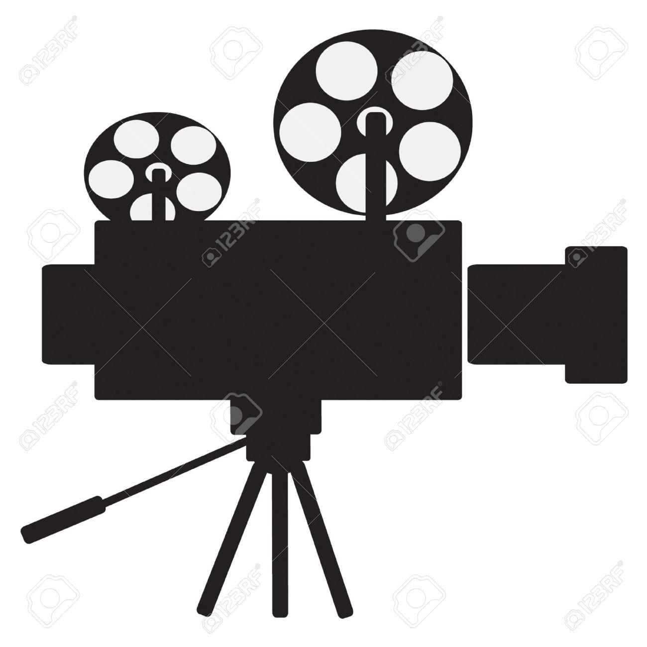 Film Projector Vector Clip Art Royalty Free Cliparts, Vectors, And.