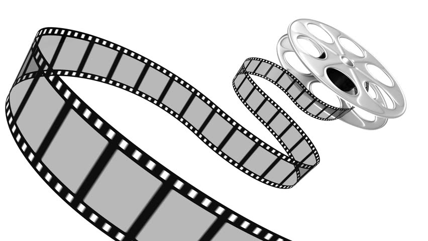 Graphics for movie reel clip art.
