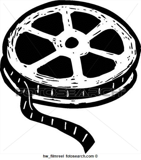 Hollywood reel clipart.