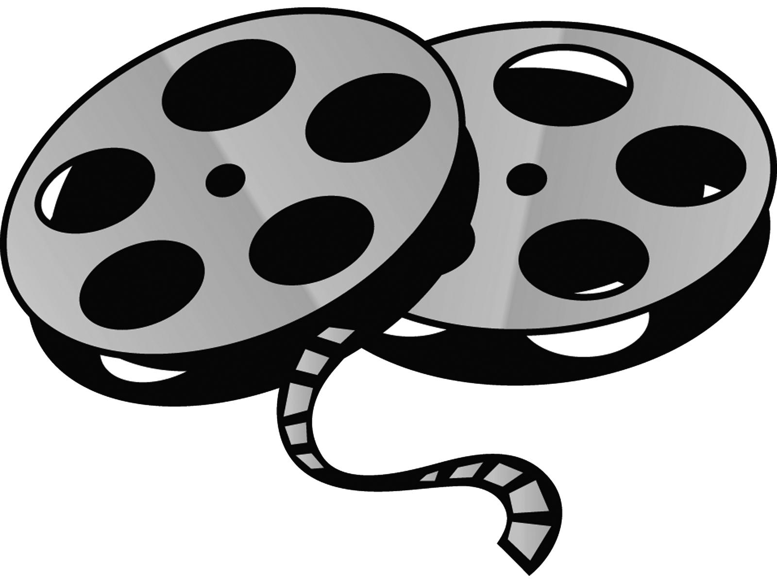 Film reel clip art.
