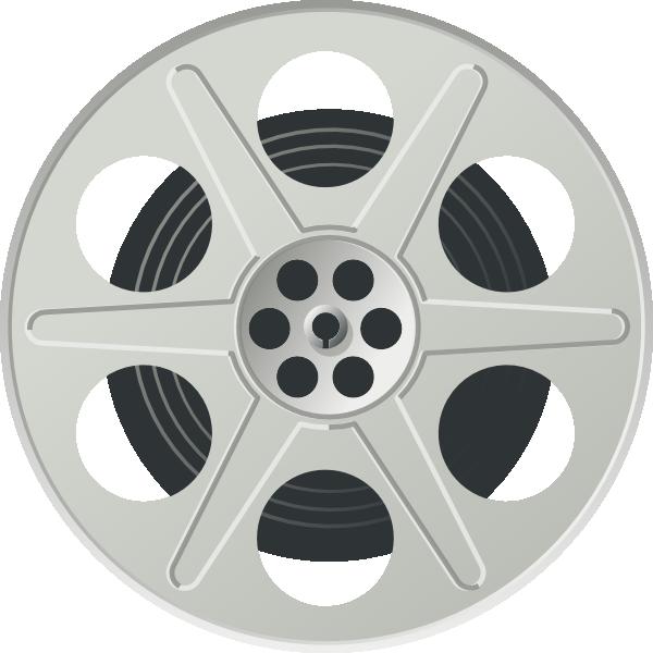 Movie Film Reel Clipart.