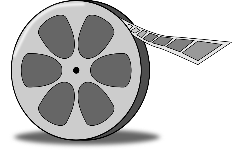 Free to Use & Public Domain Film Reel Clip Art.