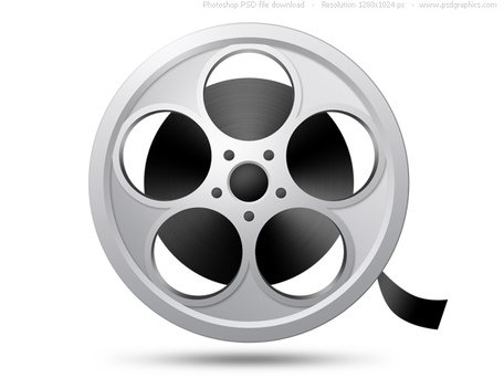 PSD camera film reel icon Clipart Picture Free Download.