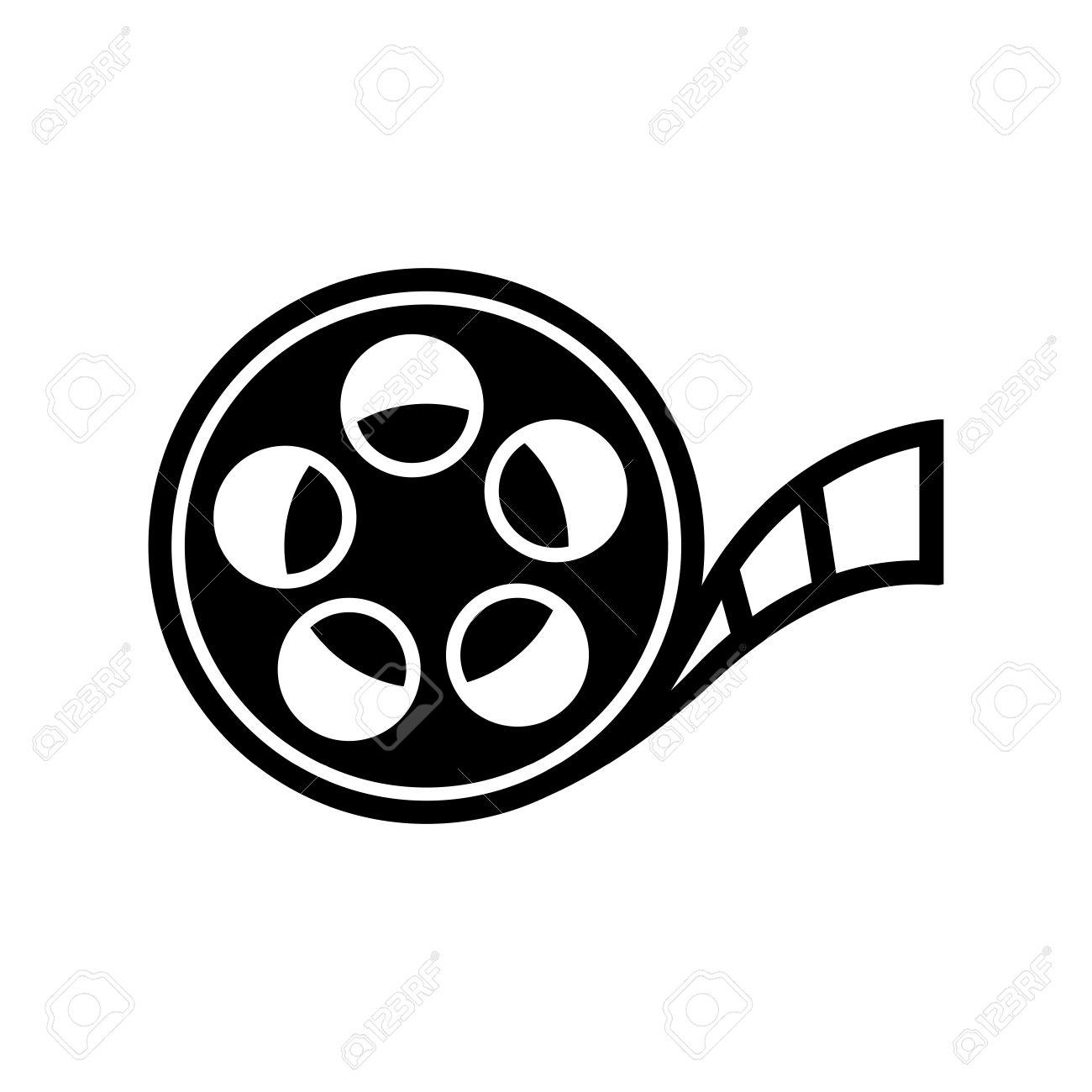 545 Film Reel free clipart.
