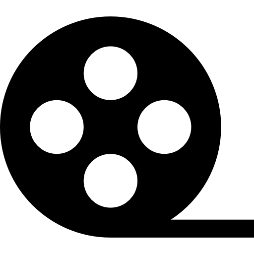 Film reel Icons.
