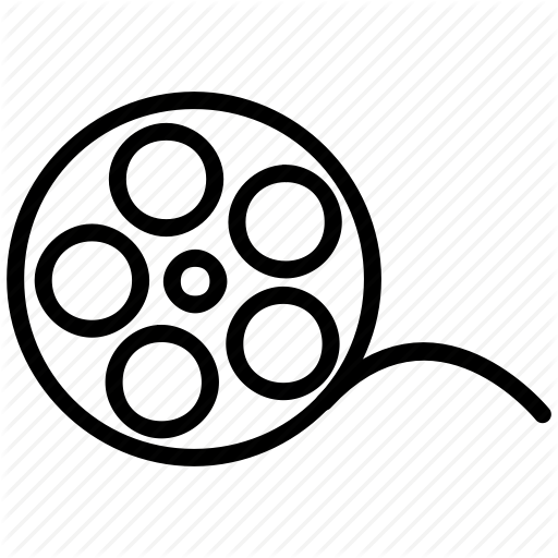 Film Reel Icon Png #185980.