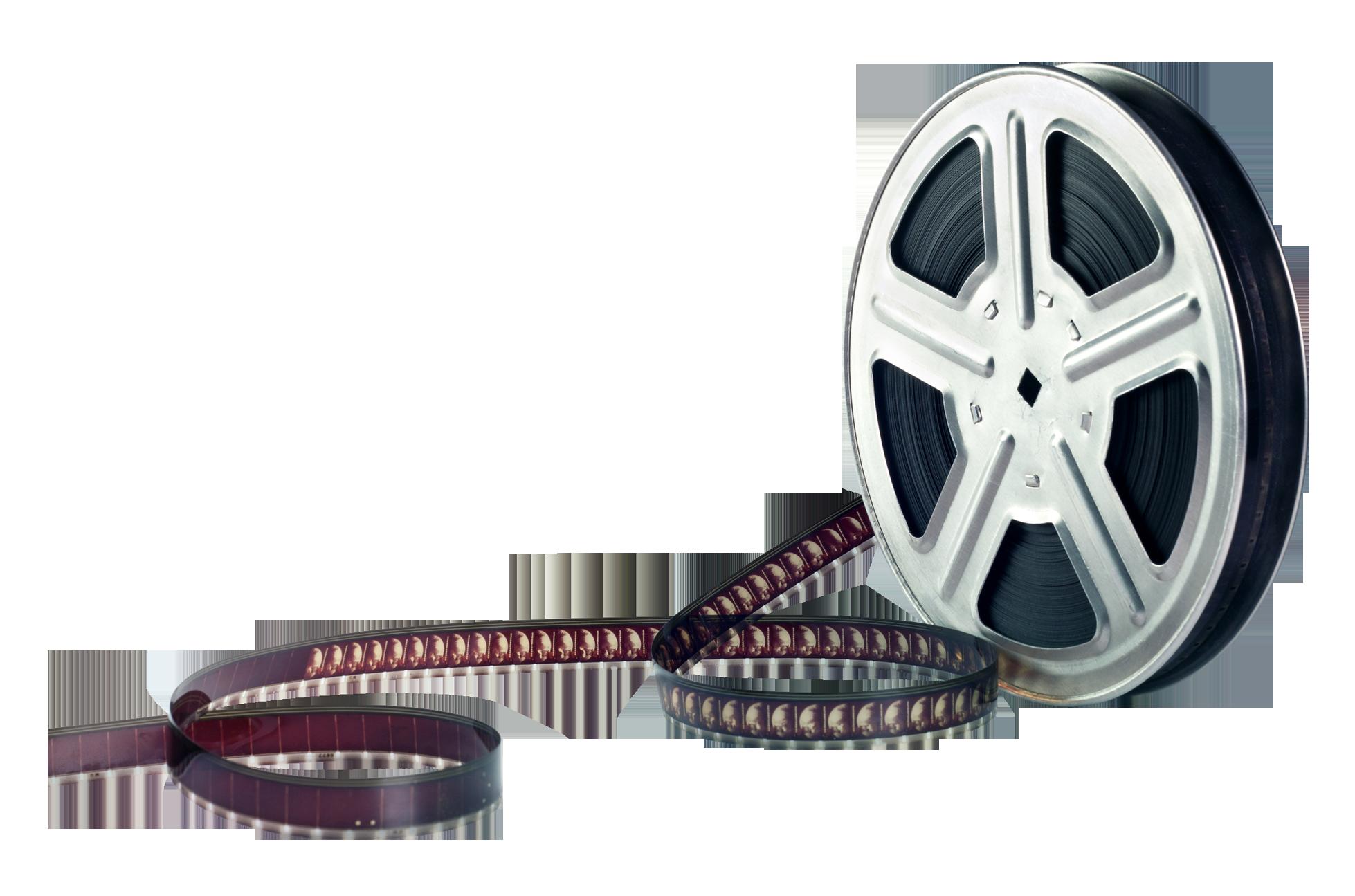 Film Reel PNG Image.