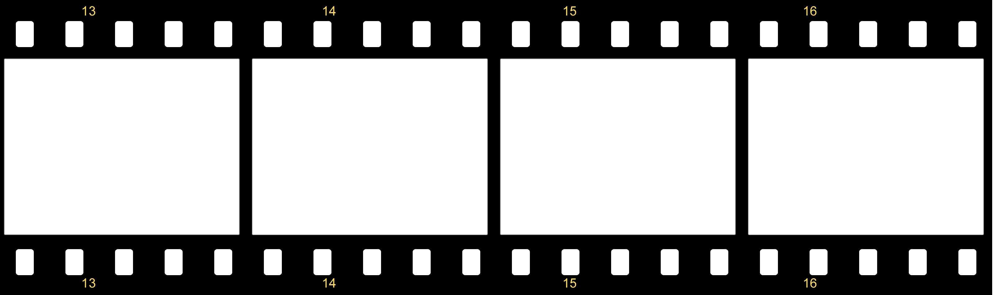 Cinema film roll png.