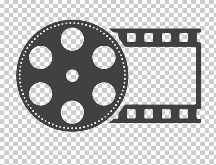 Roll Film Logo Cinema PNG, Clipart, Art, Black, Black And White.