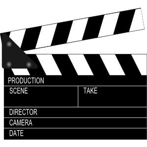 Movie Border Clipart.
