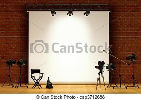 Movie set Illustrations and Clipart. 15,850 Movie set royalty free.