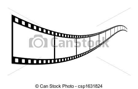 Drawing of Film strip.