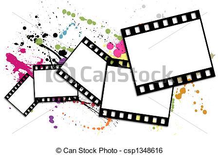 Stock Illustration of Film strip.