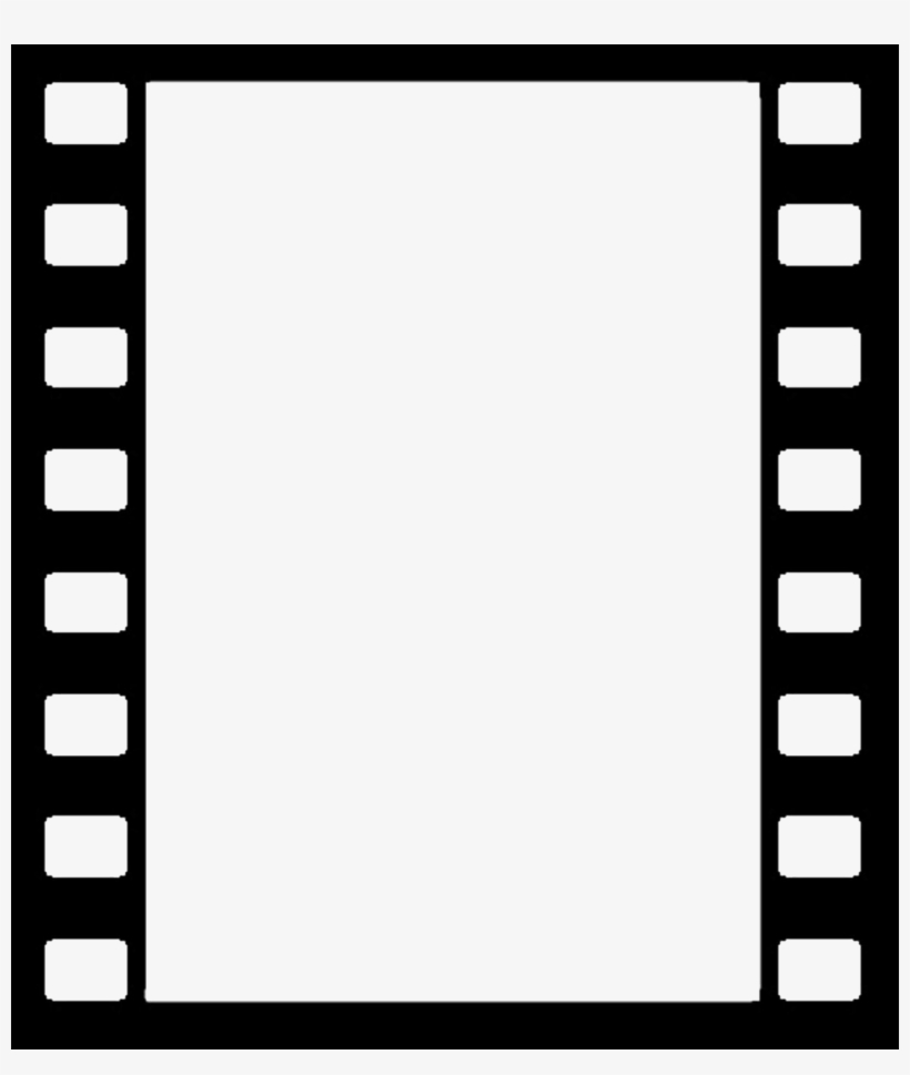 Film Reel Border Png Black And White.