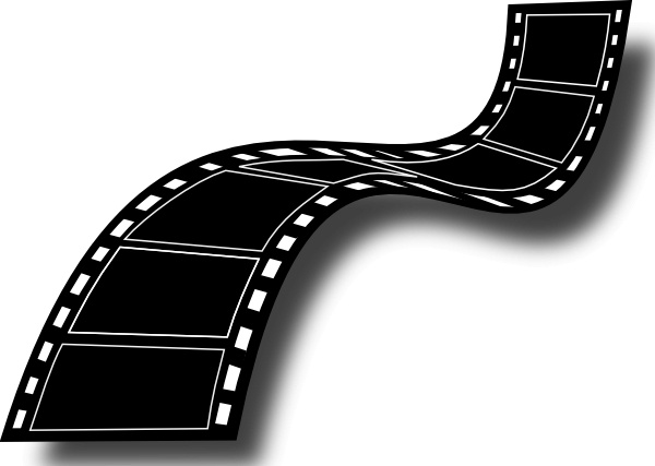 Film Strip clip art Free vector in Open office drawing svg.