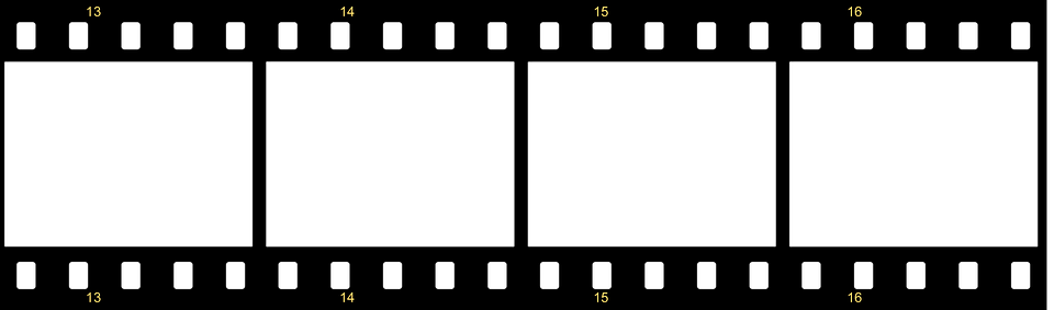 Black And White Film Strip PNG Transparent Black And White Film.