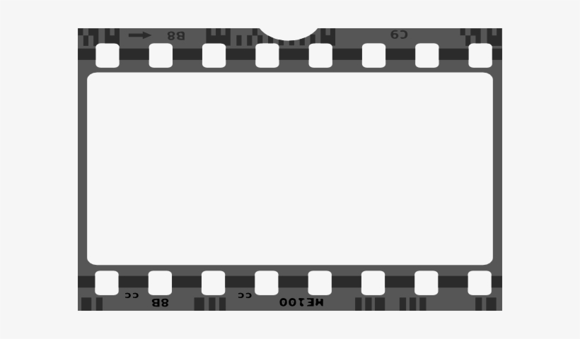 Film Tape Png Black And White.