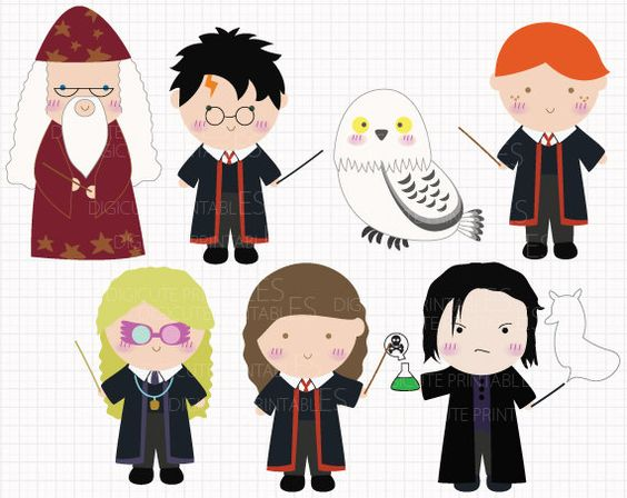 Film Inspired Harry Potter Digital CLIP ARTS personal and.