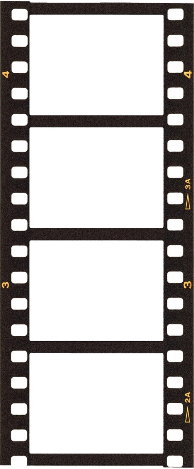 Clipart film strip frame.