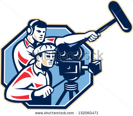 Film Crew Stock Vectors, Images & Vector Art.
