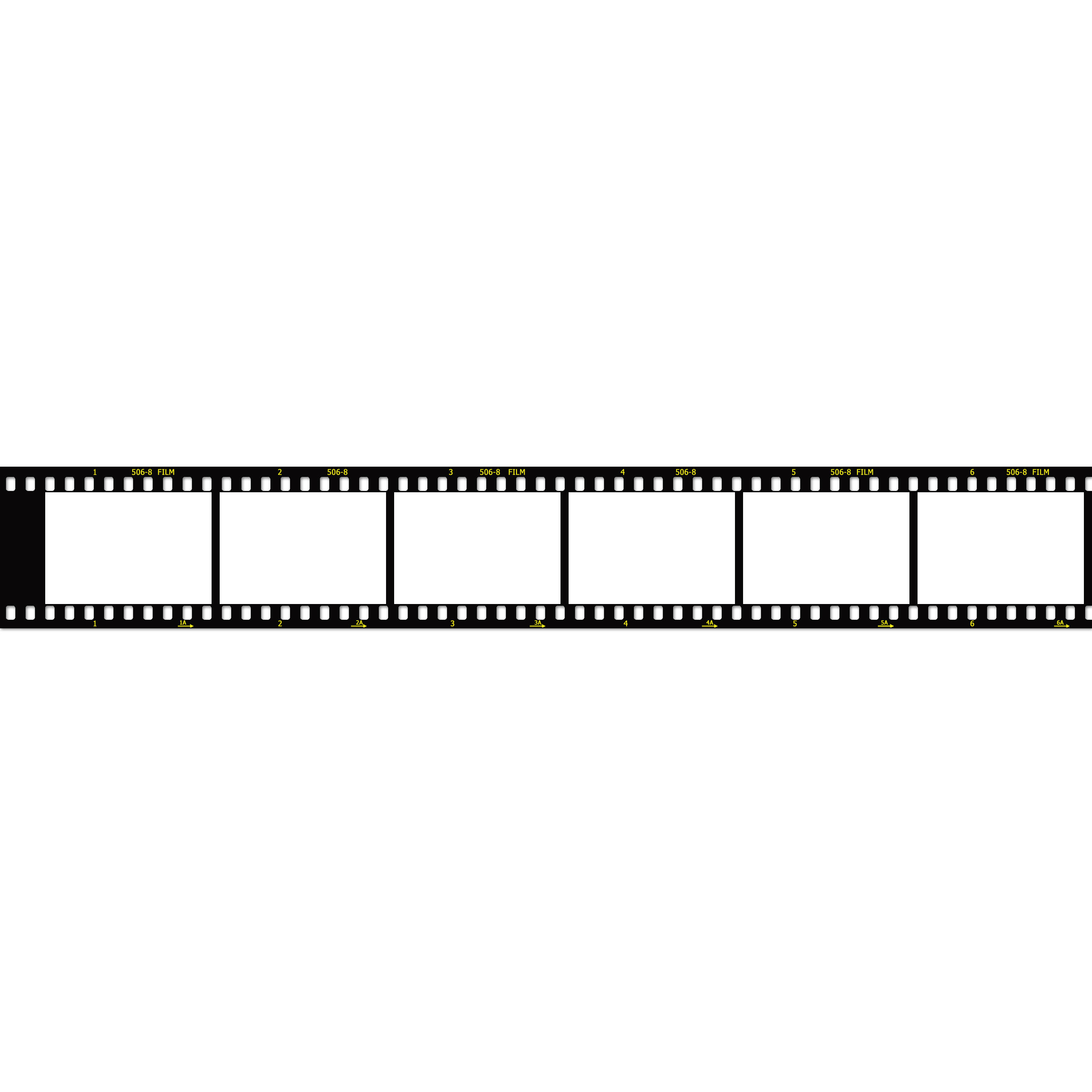 Film Strip image Template (2560px wide).
