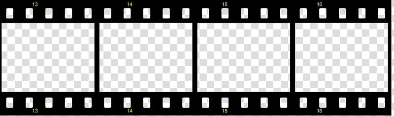 Black film illustration, Filmstrip Template graphic film.