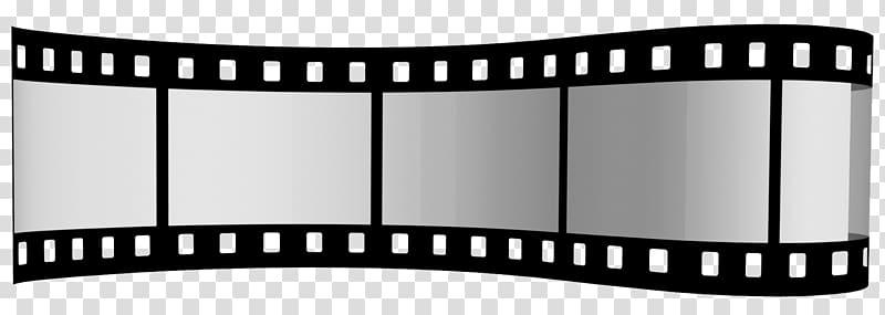 Filmstrip graphic film Template, filmstrip transparent.
