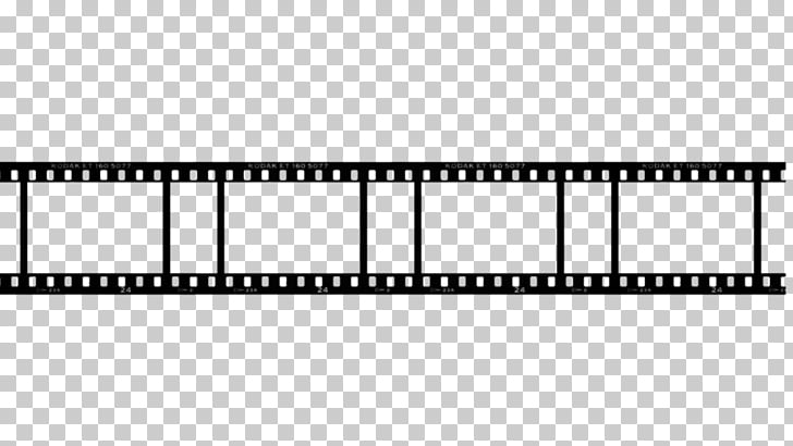 Filmstrip Template Negative, cine, black film illustration.
