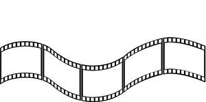 Blank Film Strip Template.