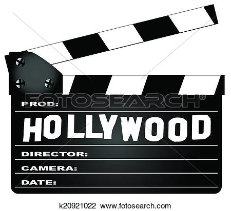 Hollywood film clipart.