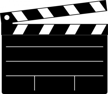 Motion picture film format clipart #4