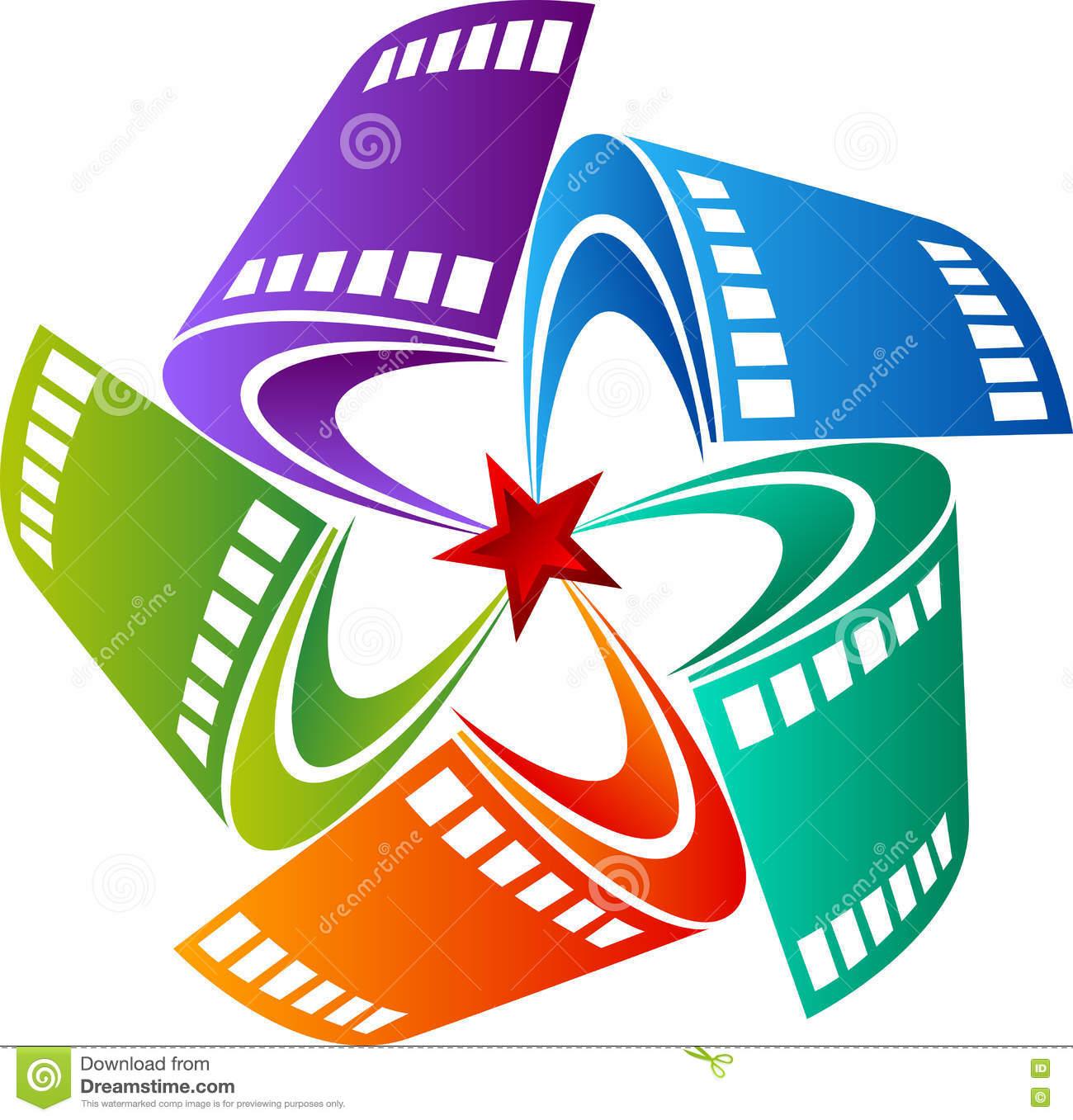 Film Star Design Stock Vector.