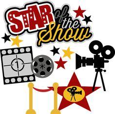Movie Star Clip Art.