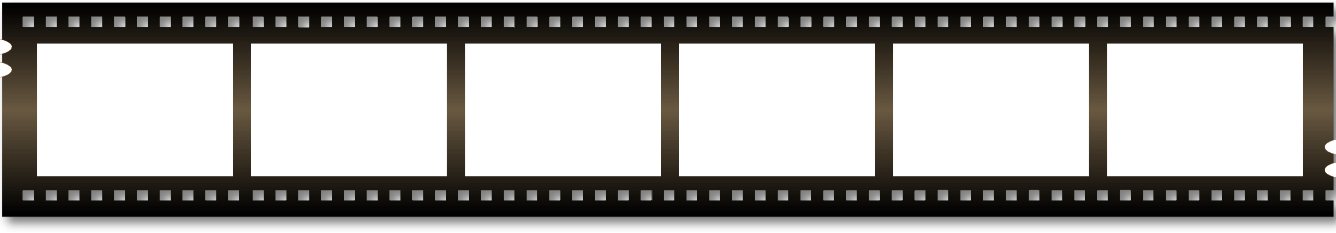 Film strip clip art and on.