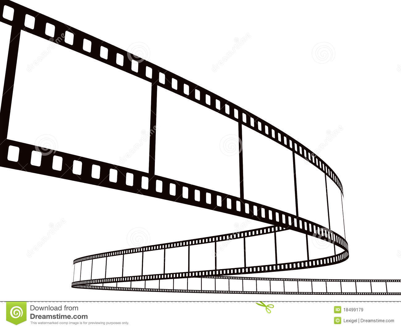 Photographic Film Stripe Stock Illustrations.