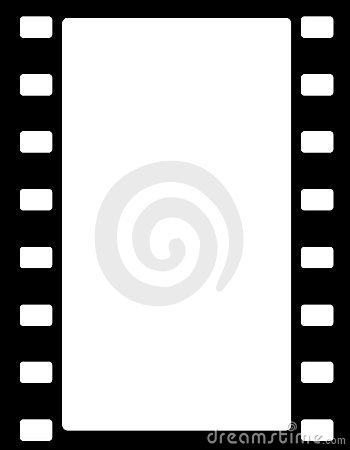 Film Stripe Border Royalty Free Stock Photo.