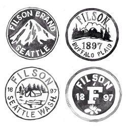 Filson Logos.